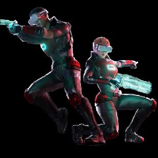 VR lasertag